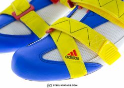 Adidas Tanarg Blue Yellow Red Shoes NOS