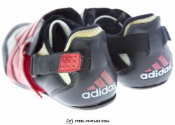 Adidas Red Stripes Classic Cycling Shoes NOS