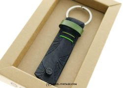 Cycled Lime Green Key Holder