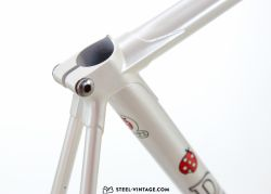 Mino Denti Road Tech Pearl White Frameset 1980s