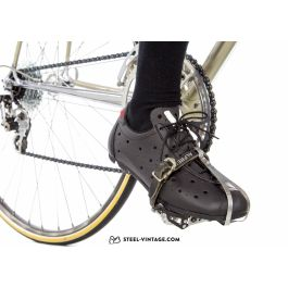 Vittoria 1976 Classic Nylon SPD Cycling Shoes Euro size 44 US size 11 Lace Up