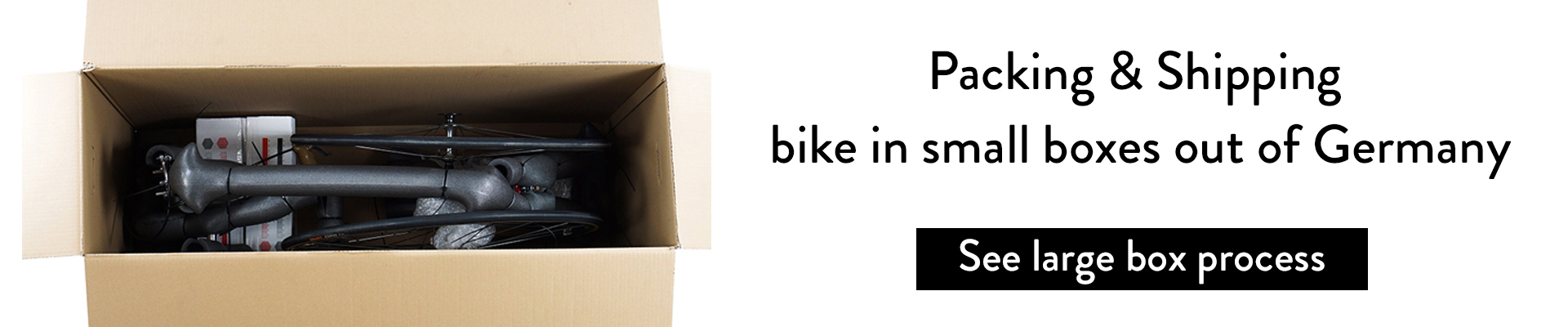 Packaging and Shipping our Bicycles