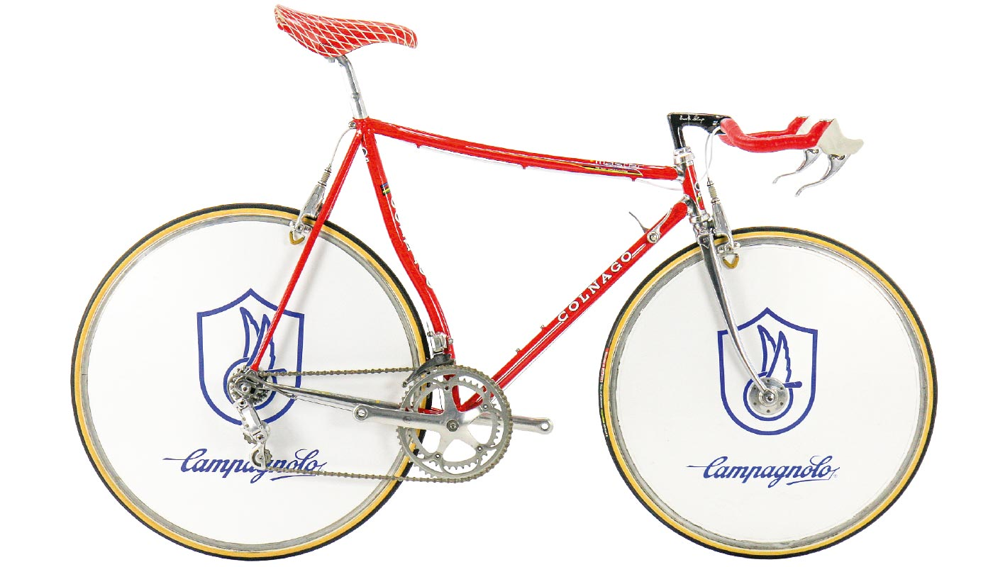 Colnago Master Krono Classic Pursuit Bike 1980s