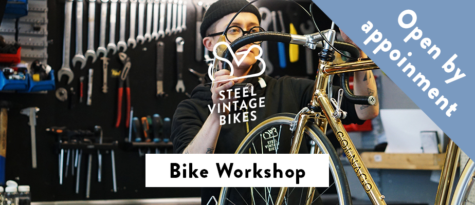 Steel Vintage Bikes Workshop