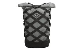 Braasi Industry Wicker Rolltop Backpack