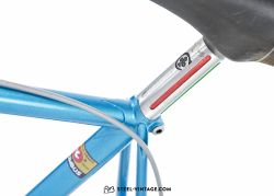 Colnago Super Blue Classic Bicycle 1977