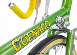 Colnago Super Green Road Bike 1970s