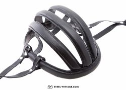 Retro Leather Cycling Helmet