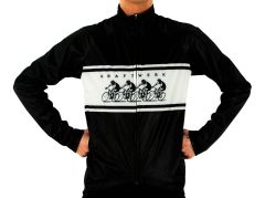 New Kraftwerk Tour de France Windbreaker Black
