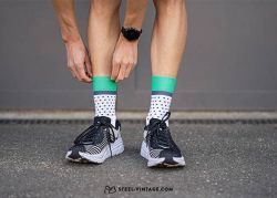 Incylence Classic Dots Green Socks