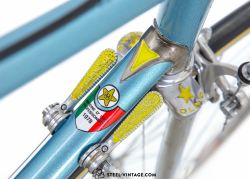 Olmo Competition Light Blue Road Bike 1970s