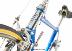 Paganini Blue Cromovelato Classic Bicycle 1980s