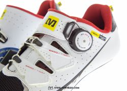 Mavic Ksyrium Pro White/Red Road Shoes NOS 38
