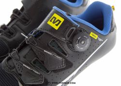 Mavic Ksyrium Pro Black/Blue Road Shoes NOS