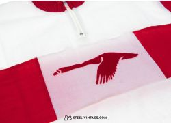 Vintage Cycling Red Goose Jersey