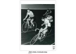 Art Print Felice Gimondi And Rudi Altig 1968