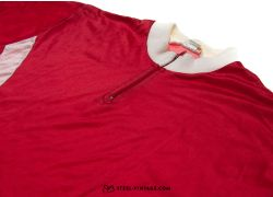 Red Vintage Cycling Jersey