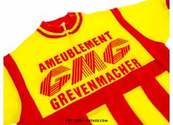 GMG Ameublement Classic Cycling Jersey 1970s