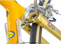 Colnago Mexico Gold Plated Road Bicycle 1980s