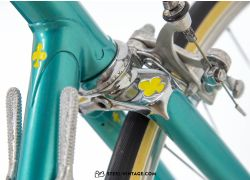 Colnago Super Petrol Blue Classic Bicycle 1974
