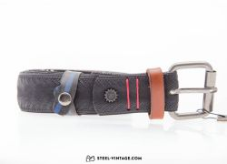 Cycled Belt Vittoria Brown and Red No.13858