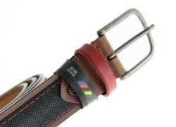 Cycled Belt Supercorsa Red