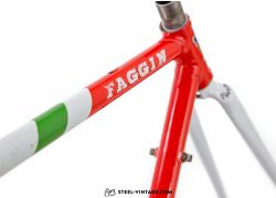 Faggin Team NRW Time Trial Frame Set 1990