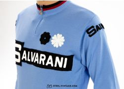 Merino Wool Jersey Salvarani Team Long Sleeve