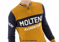 Merino Wool Jersey Molteni Team Long Sleeve