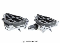 Shimano 600 Ultegra Tricolore Pedals and Cleats NOS