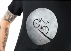 Bike Moon T-Shirt - black