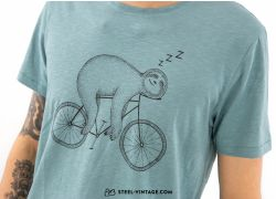 T-Shirt Bike Sloth