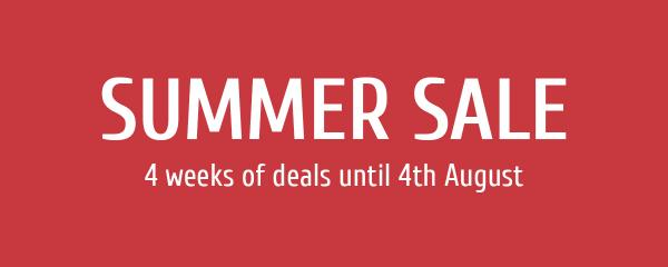 SVB Summer Sale - 4 Weeks of Special Offers!
