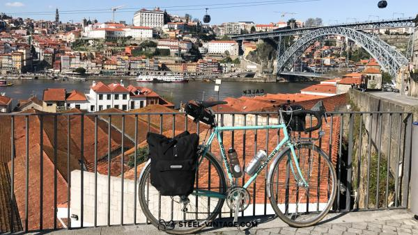 Bike Tour from Lisbon to Porto on Holdsworth Mistral