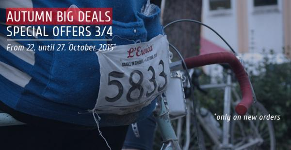 Autumn Big Sale |  Special Offers 3/4