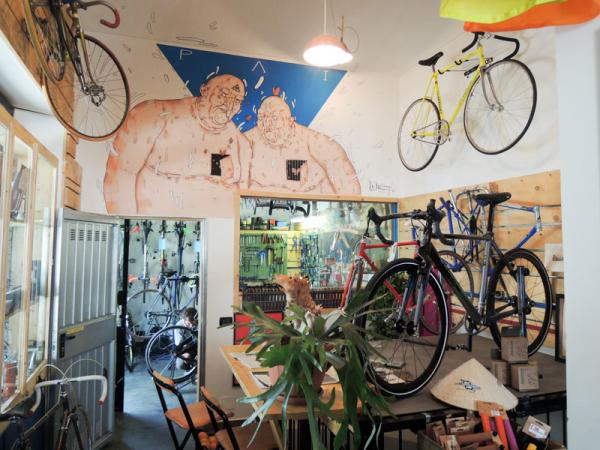 PAI Bakery and Bicycle Café in Turin