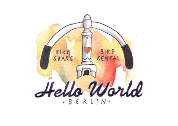 Hello World Berlin - Vintage bicycle rental