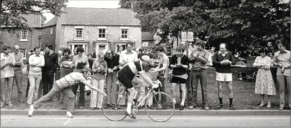L'Eroica Britannia 2014 - The Vintage Bicycle Race in UK.
