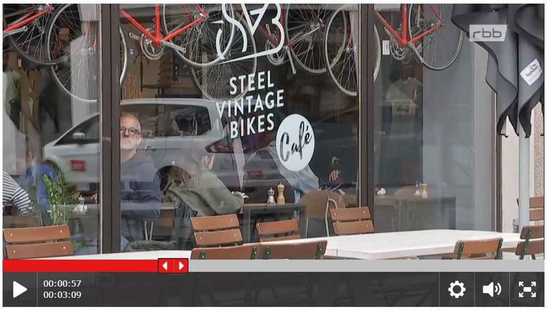 New Feature about Steel Vintage Café in German TV