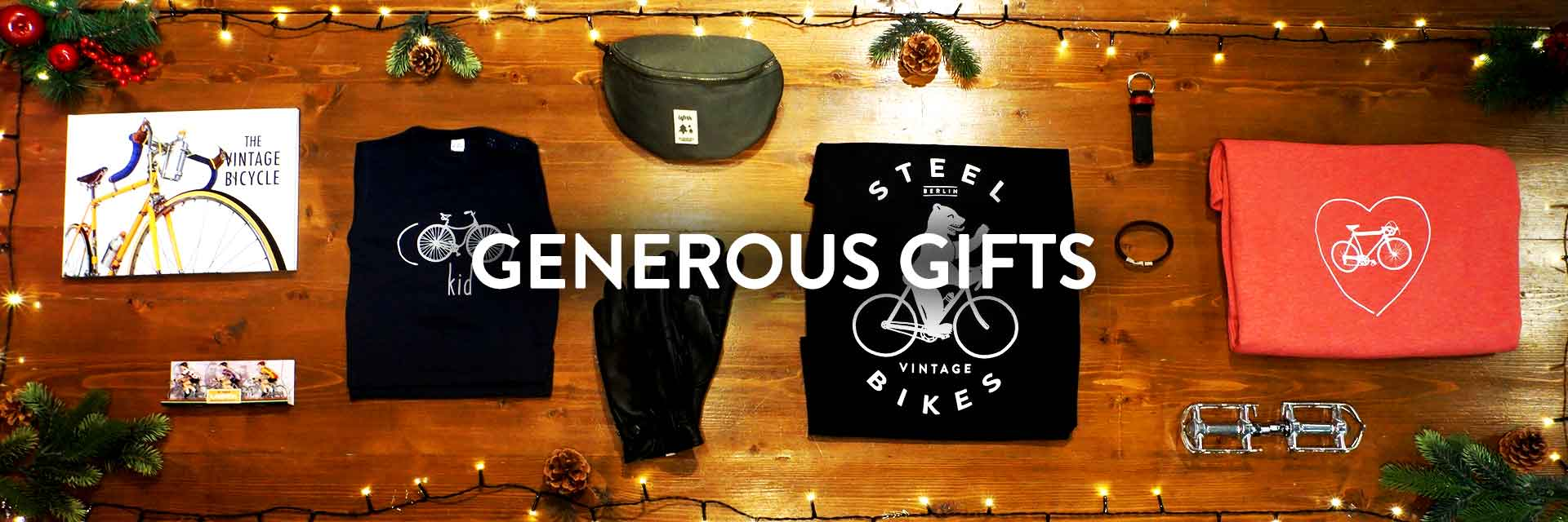 Generous Christmas Gifts for Cyclists