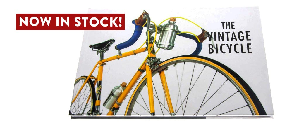 The Vintage Bicycle Book is in stock!