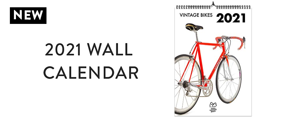 The New Vintage Bikes Calendar 2021 is out now!