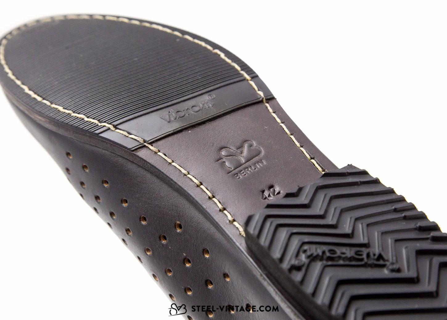 A Steel Vintage Bikes Leather Shoe sole